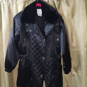 EUC Women's black dress jacket